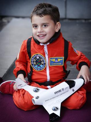 A Victorian family are sending someone to the moon on the first commerical flight to raise money for their son Massimo, who suffers from a rare medical condition.