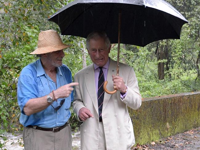 'Devastated' ... Prince Charles, right, is said to be grief-stricken over the death of Mark Shand, left.