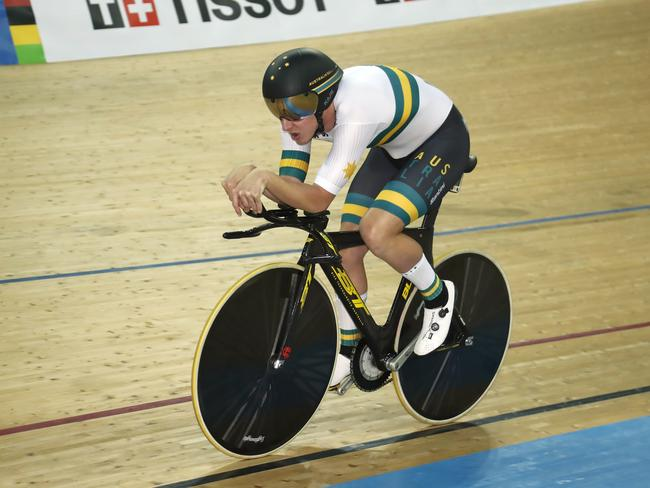 Kerby won the Individual Pursuit in his first track world championships in six years.