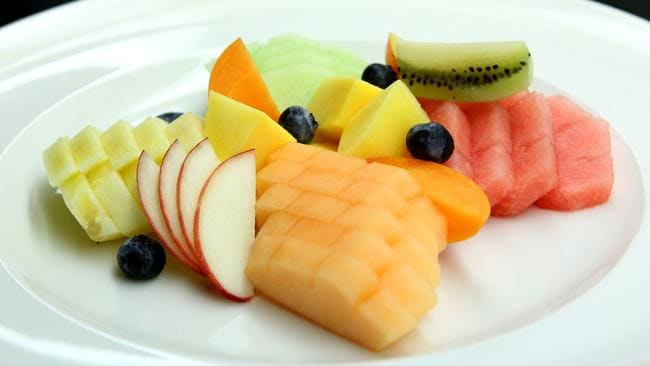 Eat food in it's freshest, simplest form. Fresh fruit is always better than dried fruit or fruit juice.