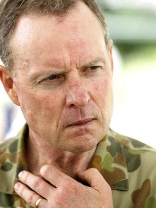 Vowed to stamp out sexism in the Army ... Army Chief, Lieutenant General David Morrison.