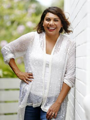 Deborah Mailman, who plays an AA counsellor, wrapped her work on Three Summers last week. Picture: Tim Hunter