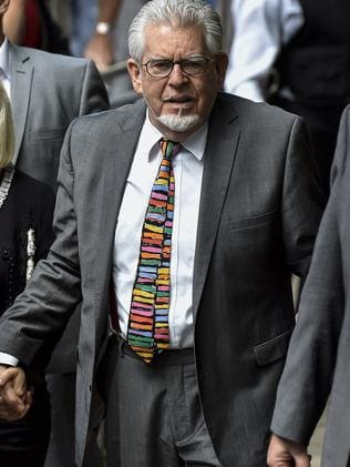 Harris arriving at Southwark Crown Court in central London before he was sentenced.