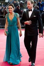 Kate and Wills arrive for a British Olympic Team GB gala event at the Royal Albert Hall in London in May. Picture: Getty