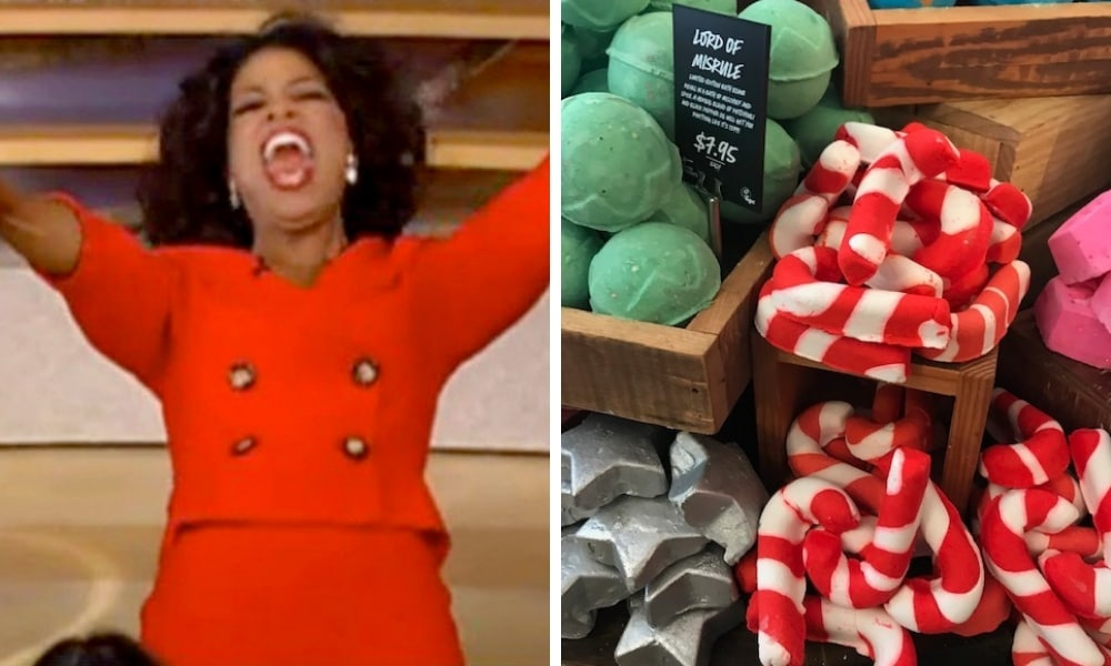 LUSH just dropped their new Christmas range and it has us festive AF