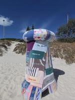 66 - Stella Onderwater - Shelter #2. Sculpture by the Sea exhibition at Cottesloe Beach. Photo Ross Swanborough.
