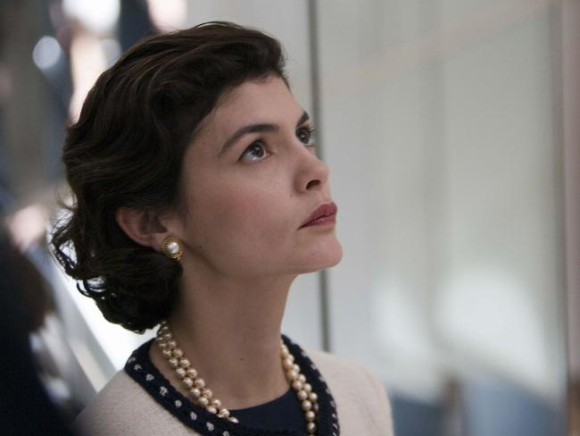 Audrey Tautou as Coco Chanel in the 2009 film Coco Avant Chanel.
