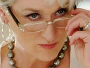 Nov 20: Bad Bosses: Meryl Streep in the film, The Devil Wears Prada