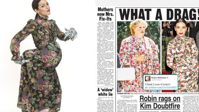 If you went as Mrs Doubtfire in 1993, you don't even have to buy a new costume this year.