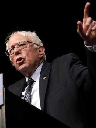 Democratic Senator Bernie Sanders. Picture: AP/Alan Diaz