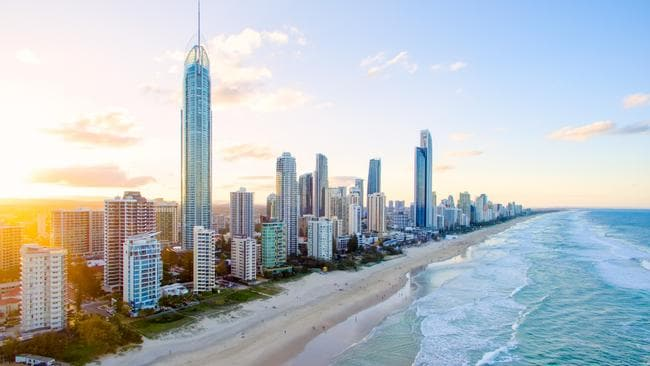 The Gold Coast has a new house price record of $606,000, according to the REIQ.