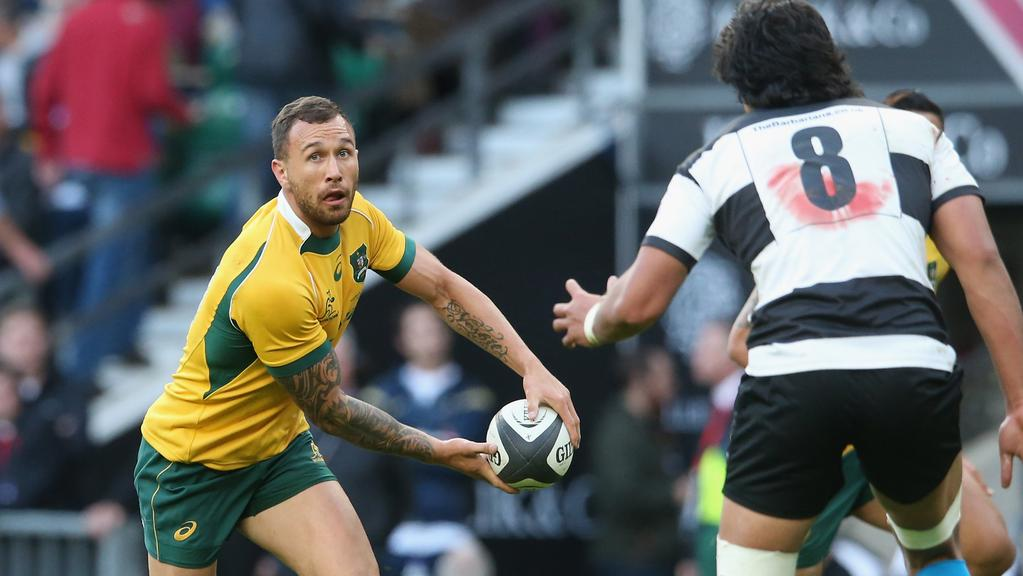 Quade Cooper will swap jerseys on the 28th.