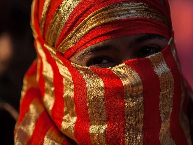Protest... An activist marches during an anti-rape rally on June 18, 2013 in Kolkata, India. Picture: Getty