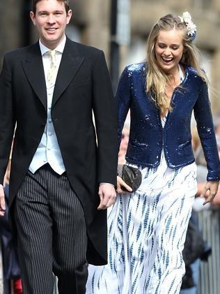 Cressida Bonas attends the wedding of Melissa Percy and Thomas van Straubenzee at Alnwick Castle in June 2013 in Alnwick, England. Picture: Getty