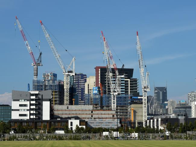 "First time buyers in Melbourne are scared off by a ""glut"" in the market."