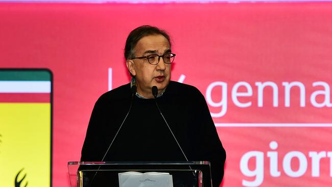 Fiat Chrysler Automobiles CEO Sergio Marchionne. Photo: Supplied.