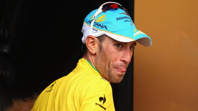 Vincenzo Nibali of Italy is leading the Tour de France by more than seven minutes approaching Paris.