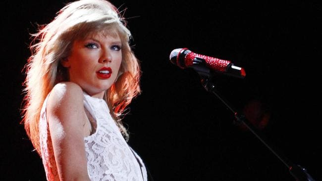 Taylor Swift performs at the 2013 CMA Music Festival in Nashville, Tennessee.