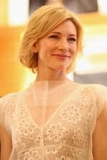 Cate Blanchett looks on at the opening of the Louis Vuitton Maison at King and George streets on December 2, 2011 in Sydney. Picture: Getty