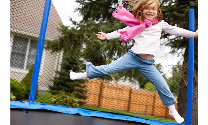 Five tips to keep your kids safe on trampolines