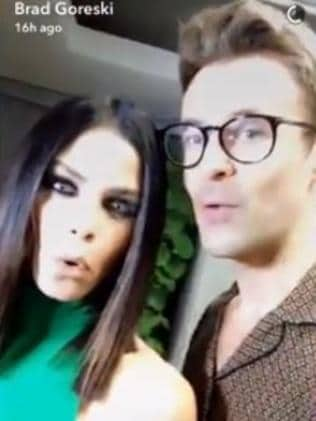 Brad Goreski is good friends with Jenna Dewan Tatum. Picture: Snapchat