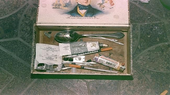 Among the belongings was a 'heroin kit'. Source: Seattle Police Dept. / Via cbsnews.com