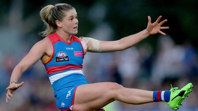 AFLW 2018: Katie Brennan hungry to make her mark after ...