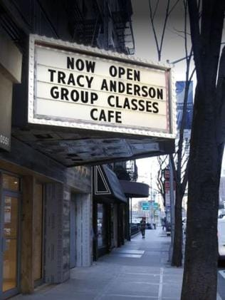 Tracy Anderson's studio cafe is open to the public. Photo: Supplied