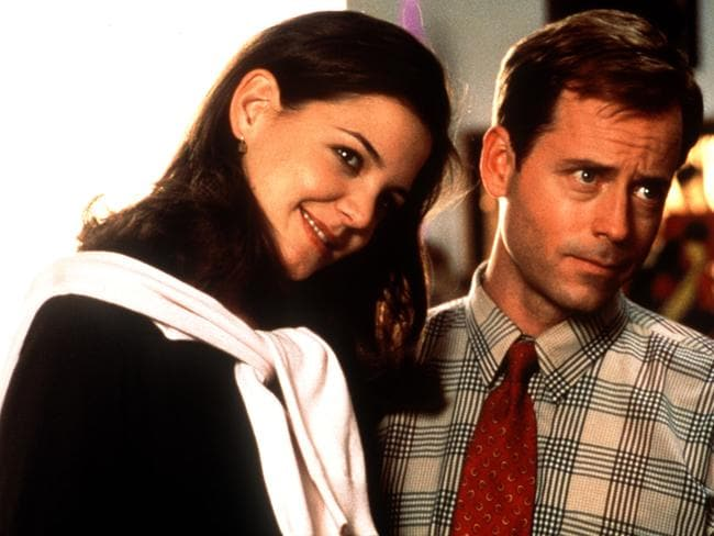 Katie Holmes with Greg Kinnear in The Gift.