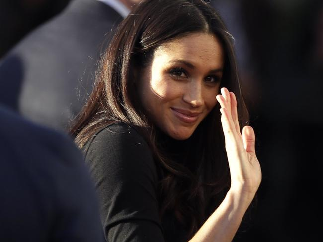 Markle mania began with the outing of Prince Harry and his fiancee Meghan Markle last week and will continue on their royal tour to Australia. Picture: Matt Dunham.