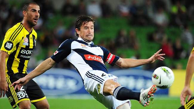 Socceroos star Harry Kewell endured a tough time at Melbourne Victory. Picture: George Salpigtidis