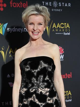 Jacqueline McKenzie at last night's AACTAs. Picture: Richard Dobson