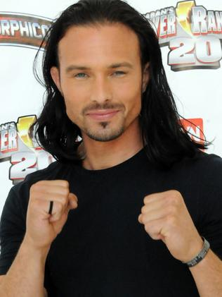 Ricardo Medina Jr. participates in the 2012 Power Morphicon 3 held at the Pasadena Convention Centre. Picture: Getty