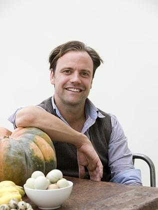 Expat Aussie chef, Brett Graham, of The Ledbury in London.