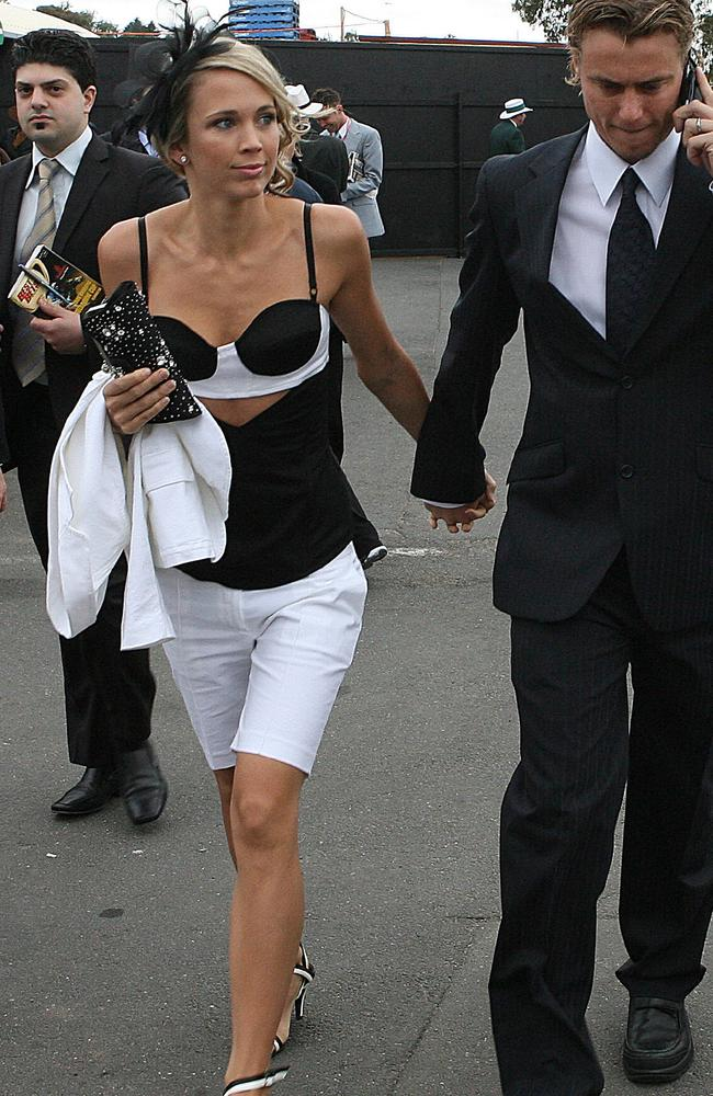 Back in 2006, Bec Cartwright/Hewitt wore white shorts at the races. Shock. Horror. The media automatically turned into style cops.