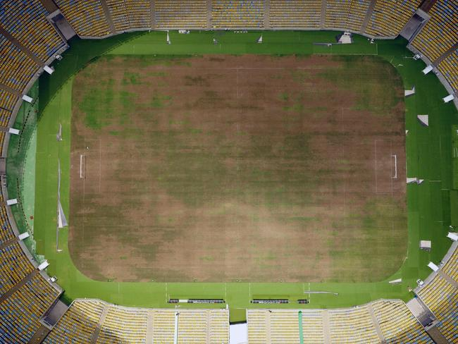 How the Maracana Stadium looks now.