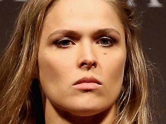 Rousey's insane comeback workout
