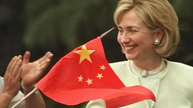 Clinton has had a polarising effect in China since the mid-90s.