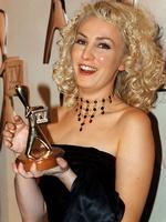 "Winner of the Gold Logie Award 1997. Lisa McCune in ""Blue Heelers"", Seven Network."