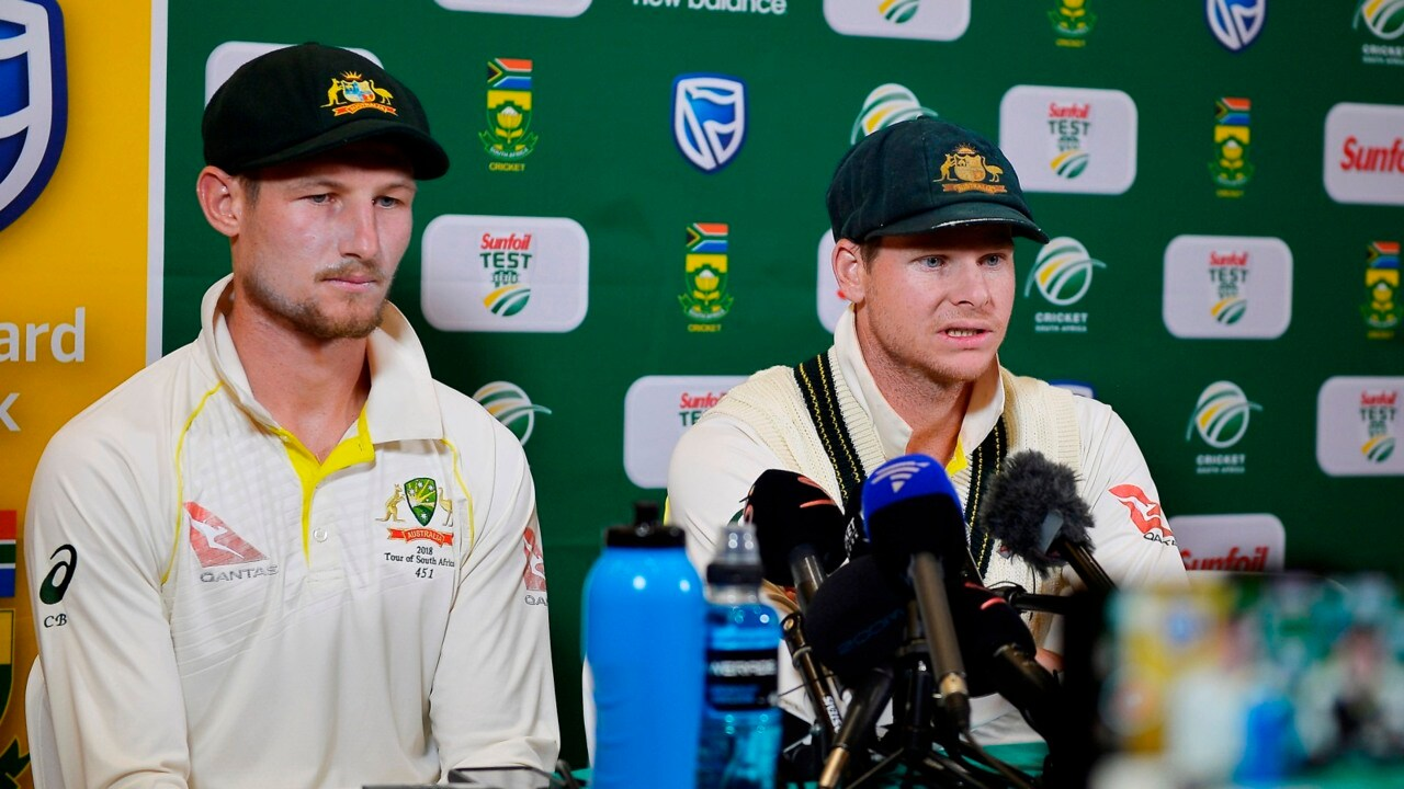 Image result for Steve Smith won't step down as Australian captain, as Cameron Bancroft is charged with ball tampering