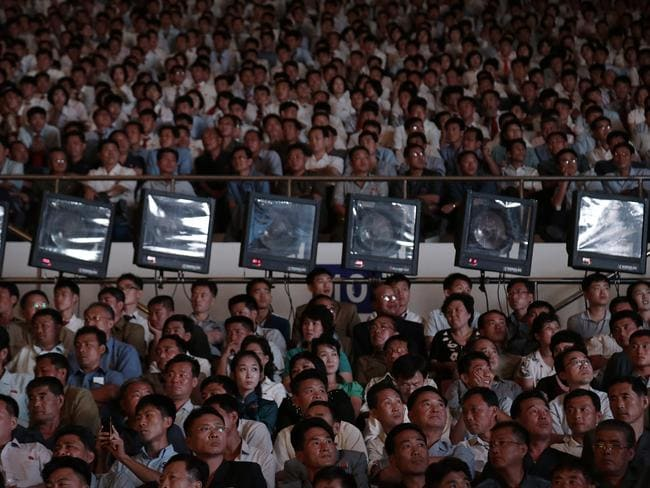 Around 15,000 North Koreans got their first glimpse of pro wrestling in 20 years.