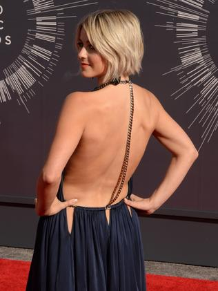 Julianne Hough. Picture: AFP