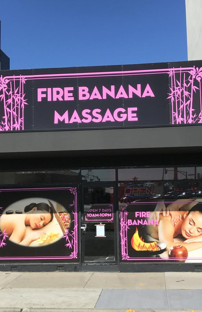 Fire Banana Massage was an illegal brothel in Melbourne.