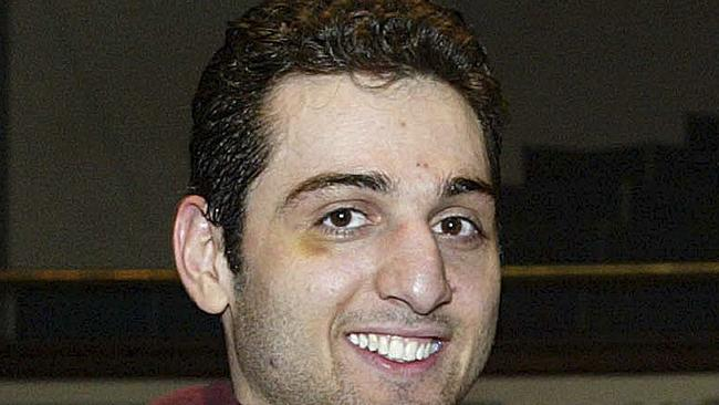 Bomb accused ... Tamerlan Tsarnaev died after a gun battle with police. Picture: AP Photo/The Lowell Sun/Julia Malakie