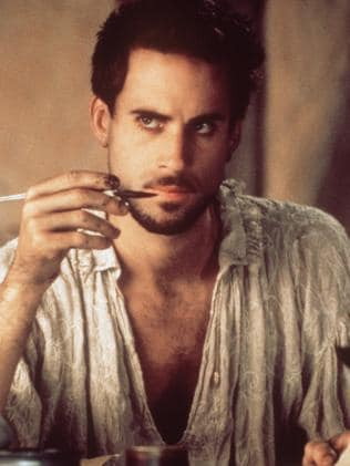 Fiennes in his best known role in Shakespeare In Love.