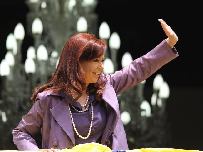 Argentina's President Cristina Fernandez has labelled the hedge fund investors 'vultures' Pic: AP Fernando Llano