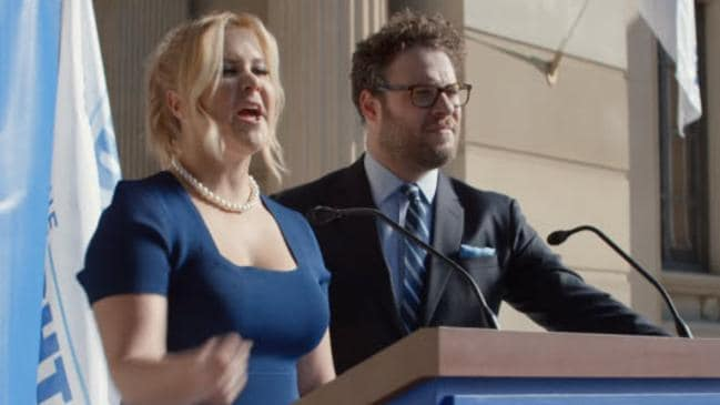Amy schumer seth rogen in bud light ad why are people angry the high profile comedy pair have teamed up for a bud light campaignurce youtube mozeypictures Gallery