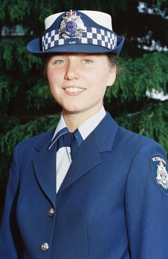 Russell Street bombing victim Constable Angela Taylor.