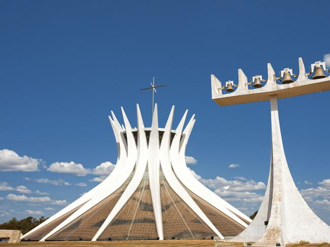 Brasilia was placed on the UNESCO World Heritage list for its modern architecture.