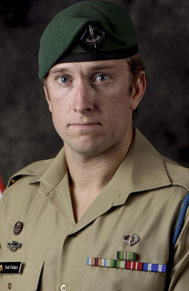Dedicated soldier: Lance Corporal Todd Chidgey of Gosford NSW, died in Afghanistan this month. Photo: Supplied